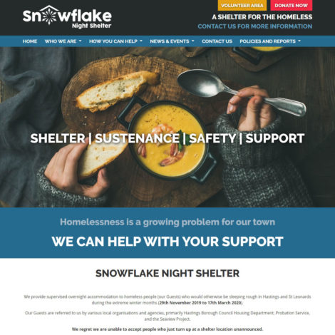 SnowFlake Night Shelter